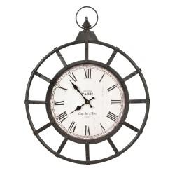 Metalowy zegar 50*4*63 cm