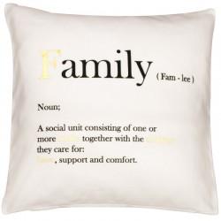 Poszewka dekoracyjna Family 45x45