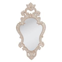 Francuskie lustro w drewnianej ramie 29*4*56 cm