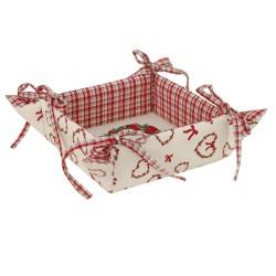 Koszyczek na chleb z serii Christmas Hearts