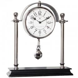 Nuklowany zegar stojący z  wahadełkiem