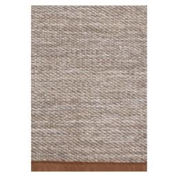 Pleciony bawełniany dywan Kenja 140x200 Lin