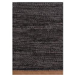 Pleciony bawełniany dywan Kenja 140x200 GRA