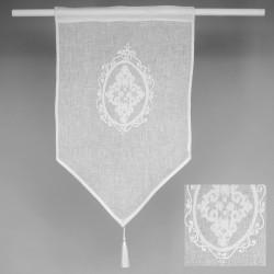 Lniana zazdroska z monogramem 45x70