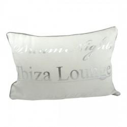 Biała poduszka ozdobna do salonu Ibiza Lounge 30x45