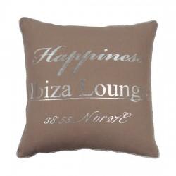 Beżowa Poduszka ozdobna do salonu Ibiza Lounge 40X40