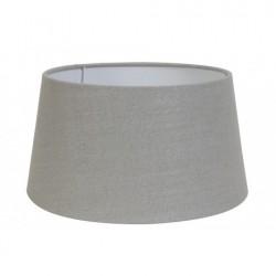Duży abażur szaro srebrny Ø 35 abażur lampa stołowa