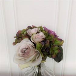 Bukiet dekoracyjny pastelowych róż