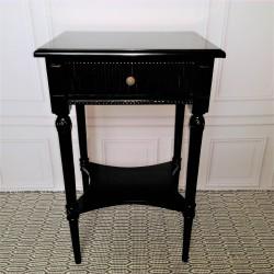 Czarny stolik boczny New York