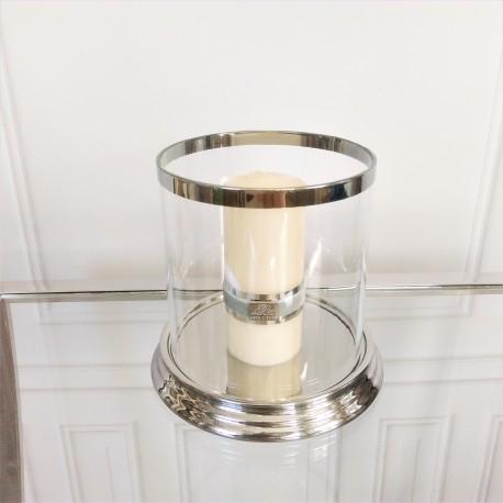 Nowojorski lampion na grubą świecę