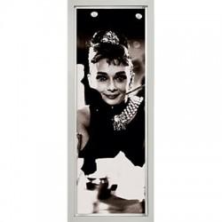 Obraz Audrey Hepburn  Brakfast 30x90