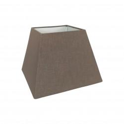 Abażur trapez Chocolate Brown na kinkiet lub lampkę nocną