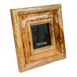 Drewniana ramka na zdjecia Mango Wood 16.5x16.5