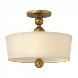 Lampa sufitowa-plafon do wnętrz New York złota