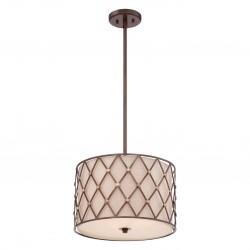 Luksusowa lampa sufitowa Ø 45 do sypialni New York