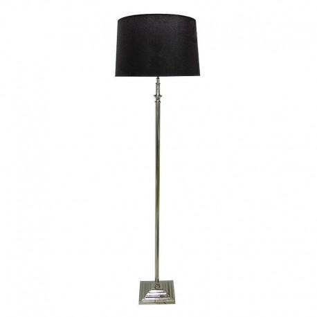 Luksusow niklowana lampa podłogowa Modern Classic