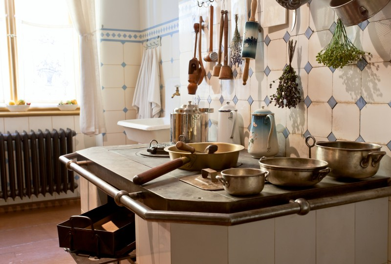 Kuchnia w stylu retro Meble, akcesoria i ozdoby  Blog   -> Kuchnia Retro Sklep