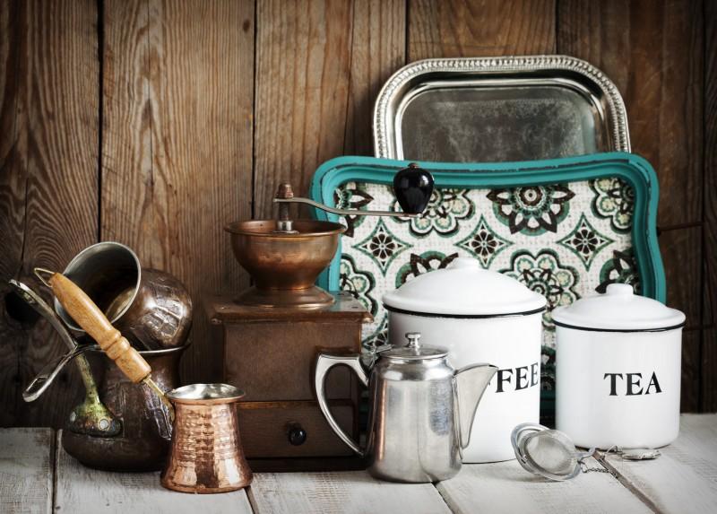 Kuchnia w stylu vintage Inspiracje, ozdoby i dodatki  Blog Villadecor