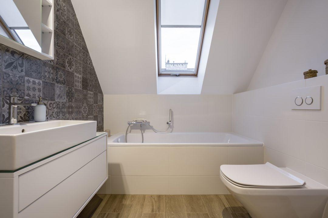 Azienka w stylu minimalistycznym pomys na oryginaln for Salle de bain 6m2 rectangulaire