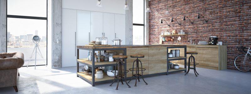 jak urz dzi kuchni w stylu industrialnym blog villadecor. Black Bedroom Furniture Sets. Home Design Ideas
