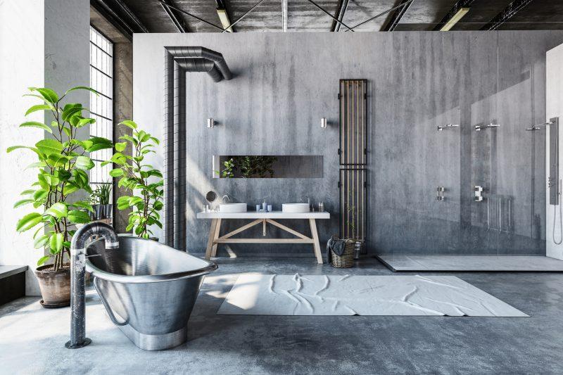 Urządzamy łazienkę W Stylu Industrialnym Blog Villadecor