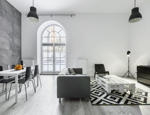 loft w skandynawskim stylu