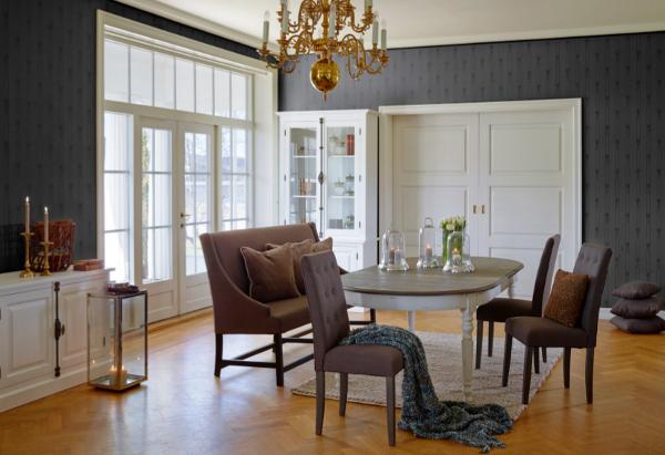 Salon w stylu norweskim