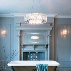 Kinkiet Art Deco łazienkowy