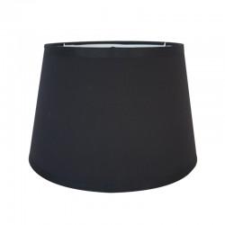 Czarny bawełniany abażur na kinkiet S(20)