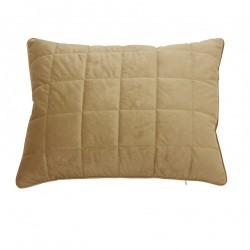 Złota poszewka na poduszkę