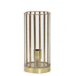 Elektryczny lampion w kolorze starego złota