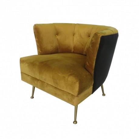 Złoty fotel