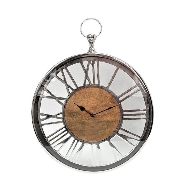 Duży zegar ścienny do salonu