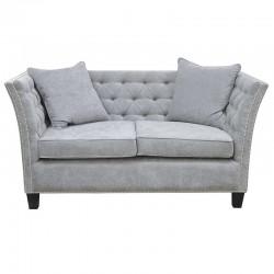 Elegancka nieduża pikowana sofa szer.174 cm do salonu