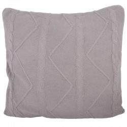 Elegancka poduszka w modnym szarym kolorze Hamptons
