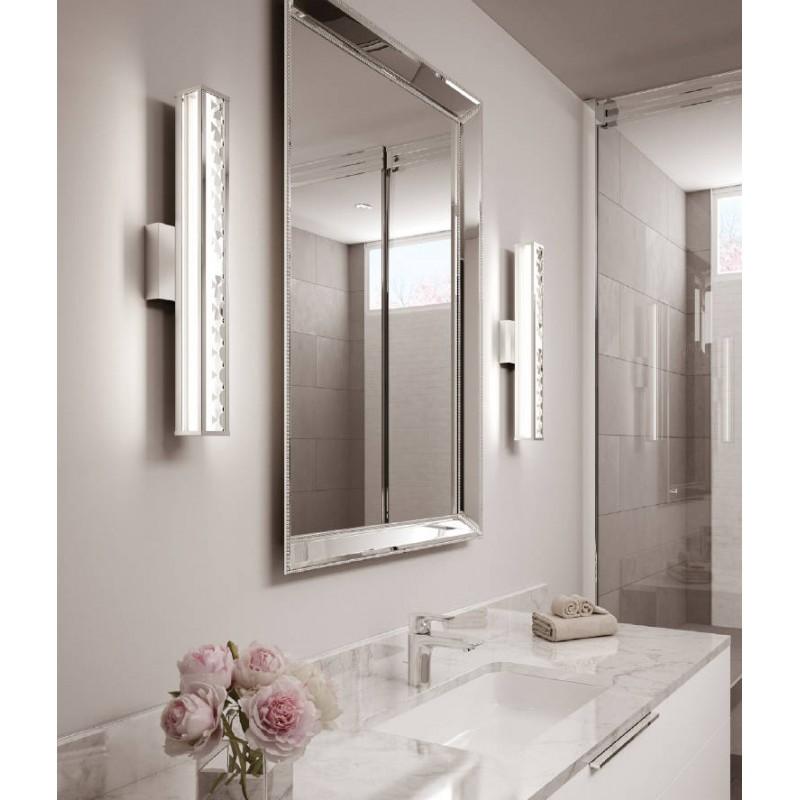 Oświetlenie Lustra łazienkowego Kinkiet Glamour Elstea Fe