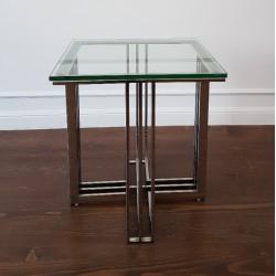 Moder Classic stolik pomocnik do soffy szkłany
