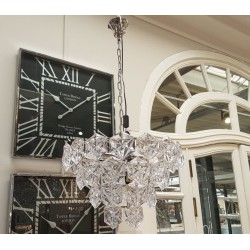 Żyrandol kryształowy połysk do wnętrz luksusowych i nowoczesnych
