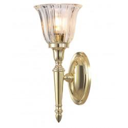 Kinkiet złoty łazienkowy art deco kinkiet kryształowy