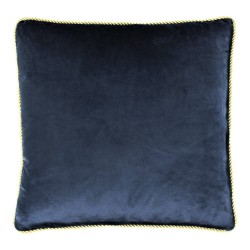 Niebiesko złota modna poduszka ozdobna 45x45 poduszki dekoracyjne