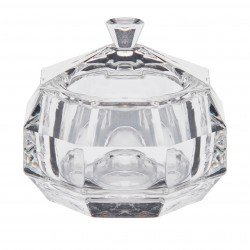 Mini szkatułka szklane puzderko kryształowe