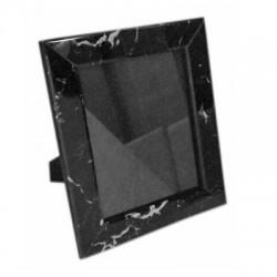 Luksusowa 20X25X4 czarna marmurowa ramka na zdjęcia