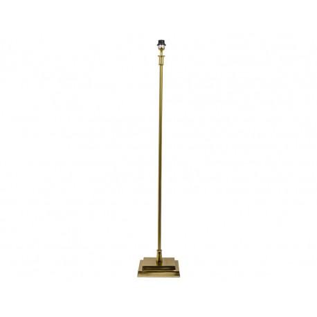 Lampa stojąca podłogowa złota