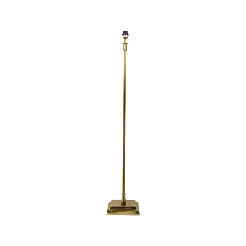 Lampa stojąca podłogowa złota h142 cm