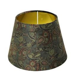 Turkusowy abażur do lampy stojącej podłogowej