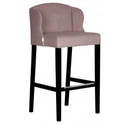 Luksusowy tapicerowany hoker kuchenny krzesło barowe