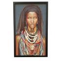 Luksusowy obraz na płótnie-kobieta 135x85 Urban Etno