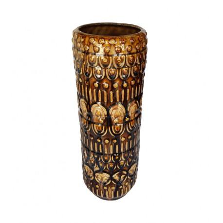 Porcelanowy wazon na kwiaty w klimacie Boho