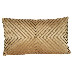 Art Deco luksusowa poduszka złoty haft 35X50 do sypialni