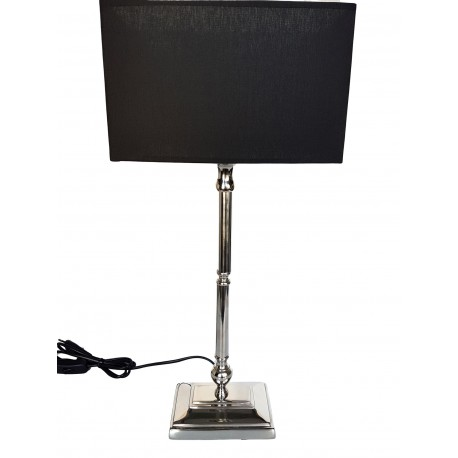 Elegancka lampa stołowa do sypialni na stolik- salonu na